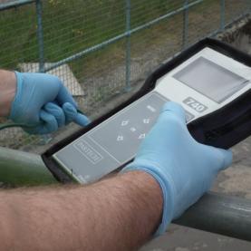 Appareil portable de mesure de turbidité et de solide en suspension avec sonde type IR